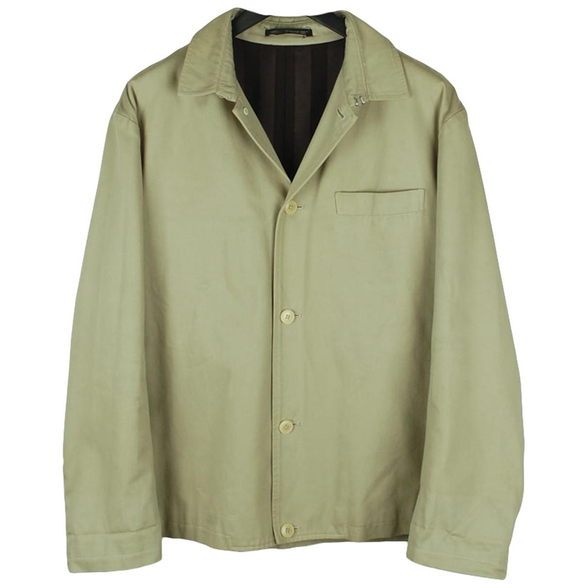 Yohji Yamamoto \N Beige Cotton jacket  for Men M International