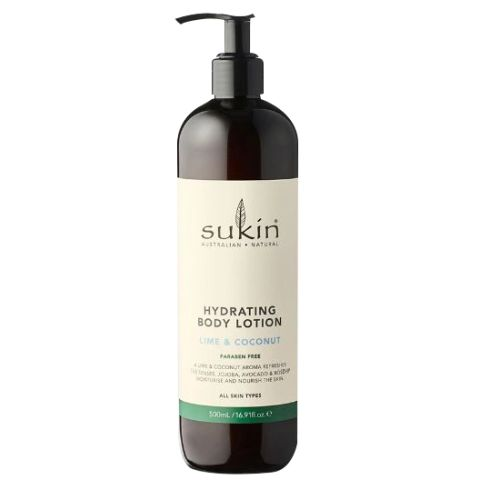 Hydrating Body Lotion Lime Coconut 16.9 Oz by Sukin