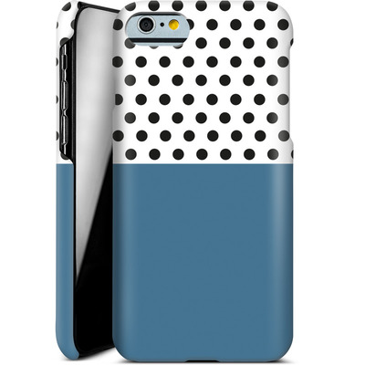 Apple iPhone 6 Smartphone Huelle - Blue Dots von caseable Designs