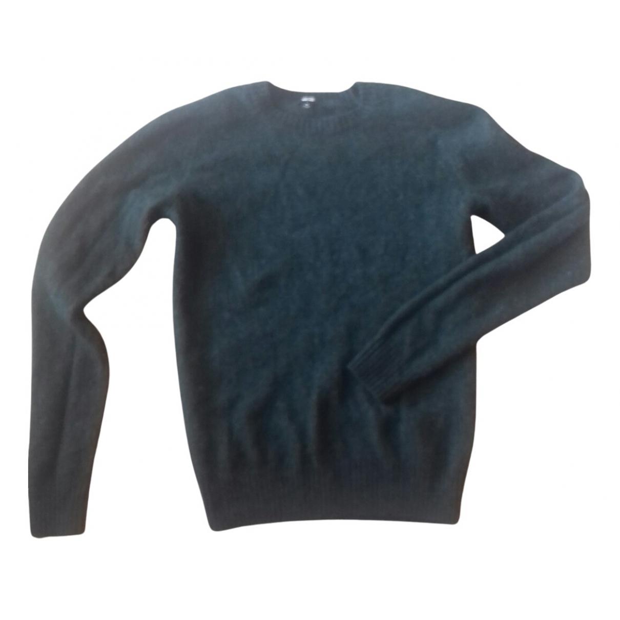 Uniqlo \N Pullover in  Gruen Wolle