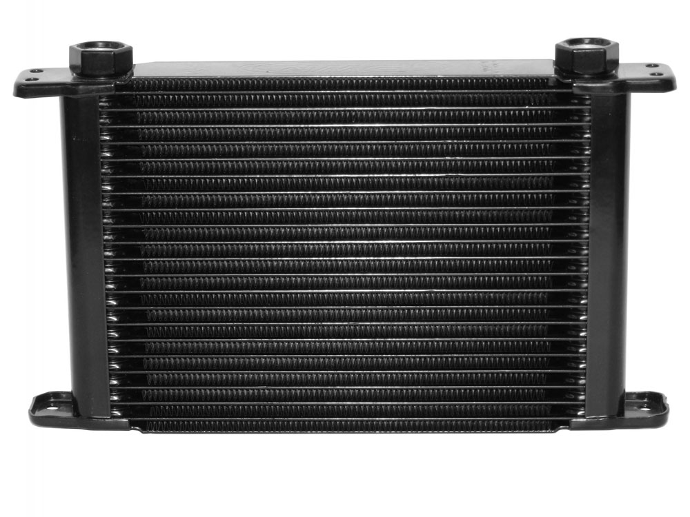 Engine Oil Cooler Kit 21 Row Plate & Fin 11 in (280mm) x 7-1/2 in (189mm) x 1-3/4 in (37mm)