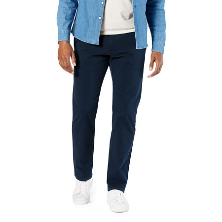 Dockers Men's Ultimate Chino Straight With Smart 360 Flex, 38 30, Blue