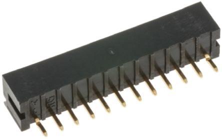 Hirose , DF3, 14 Way, 1 Row, Straight PCB Header (5)