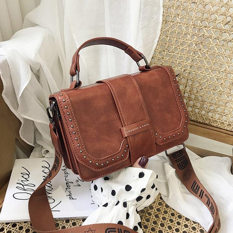 Ericdress PU Thread Plain Rectangle Tote Bags