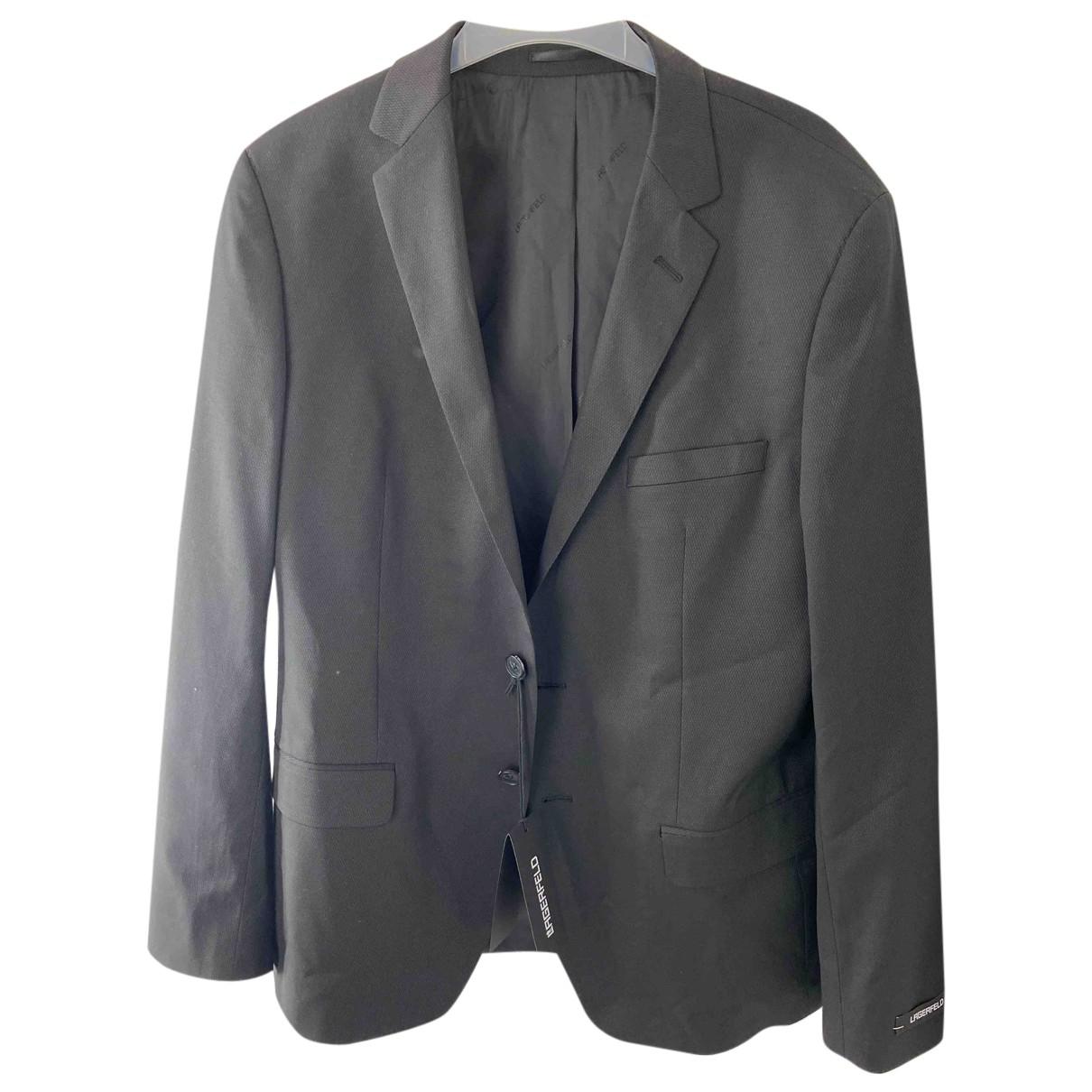 Karl Lagerfeld \N Anzuege in  Schwarz Polyester