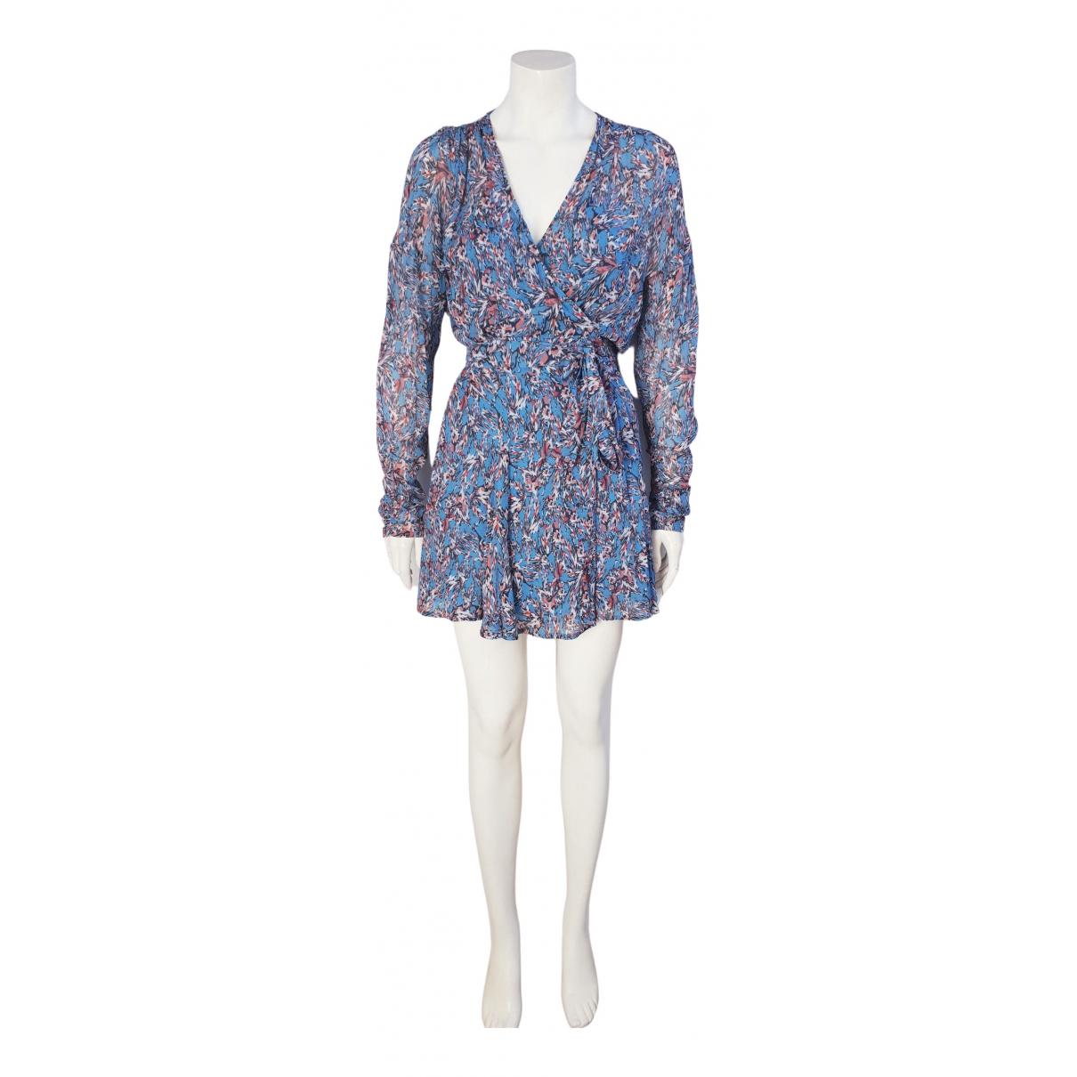 Iro \N Kleid in  Blau Viskose