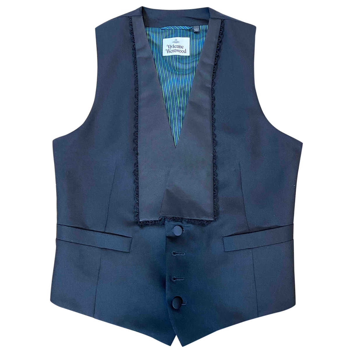 Vivienne Westwood \N Pullover.Westen.Sweatshirts  in  Schwarz Wolle