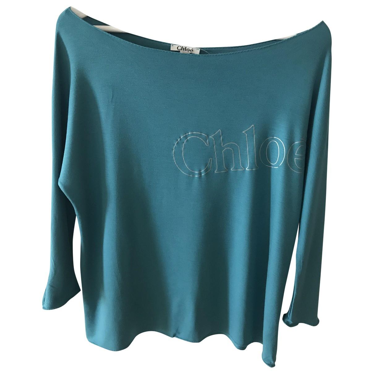 Chloé \N Blue  top for Women 38 FR