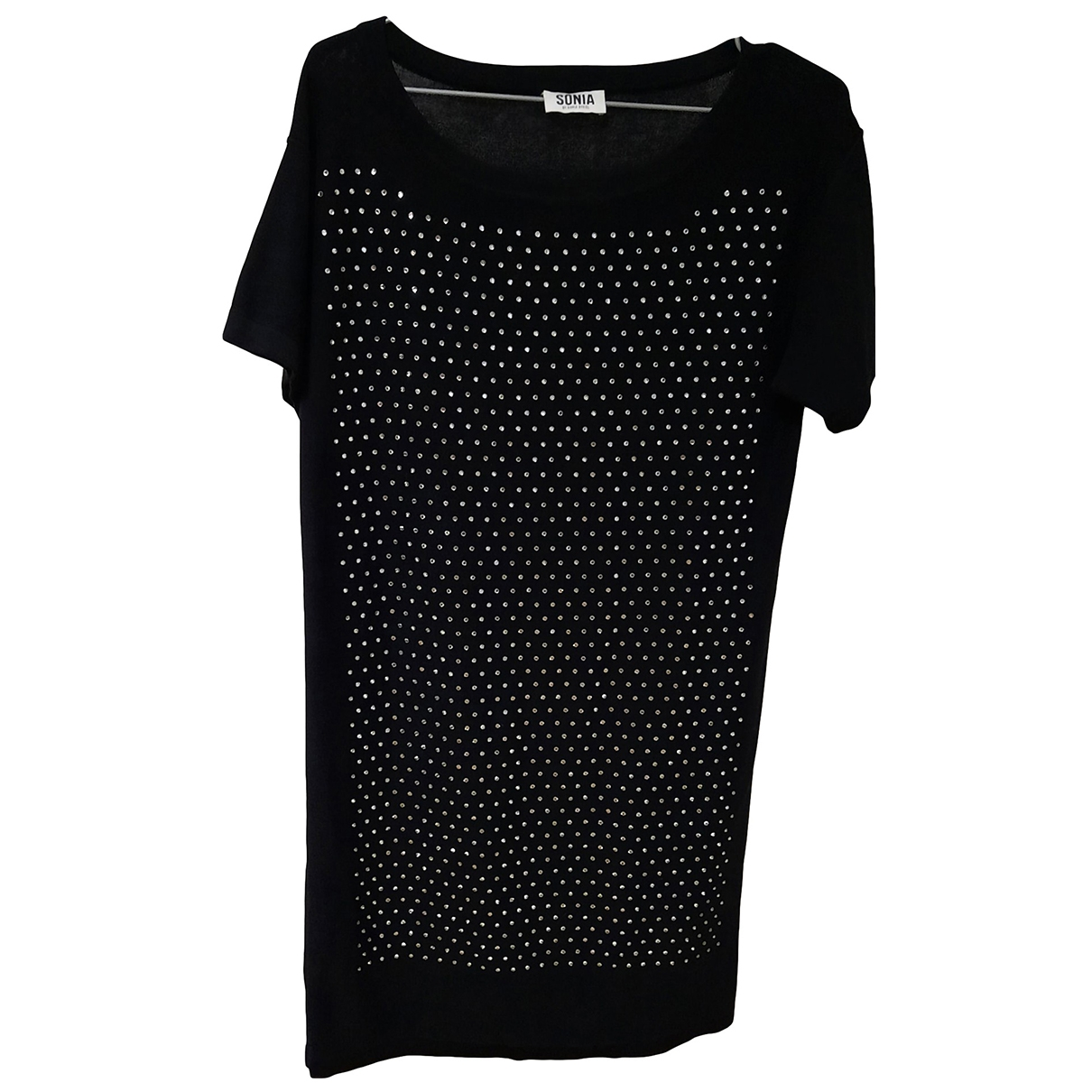Sonia By Sonia Rykiel - Robe   pour femme en coton - noir