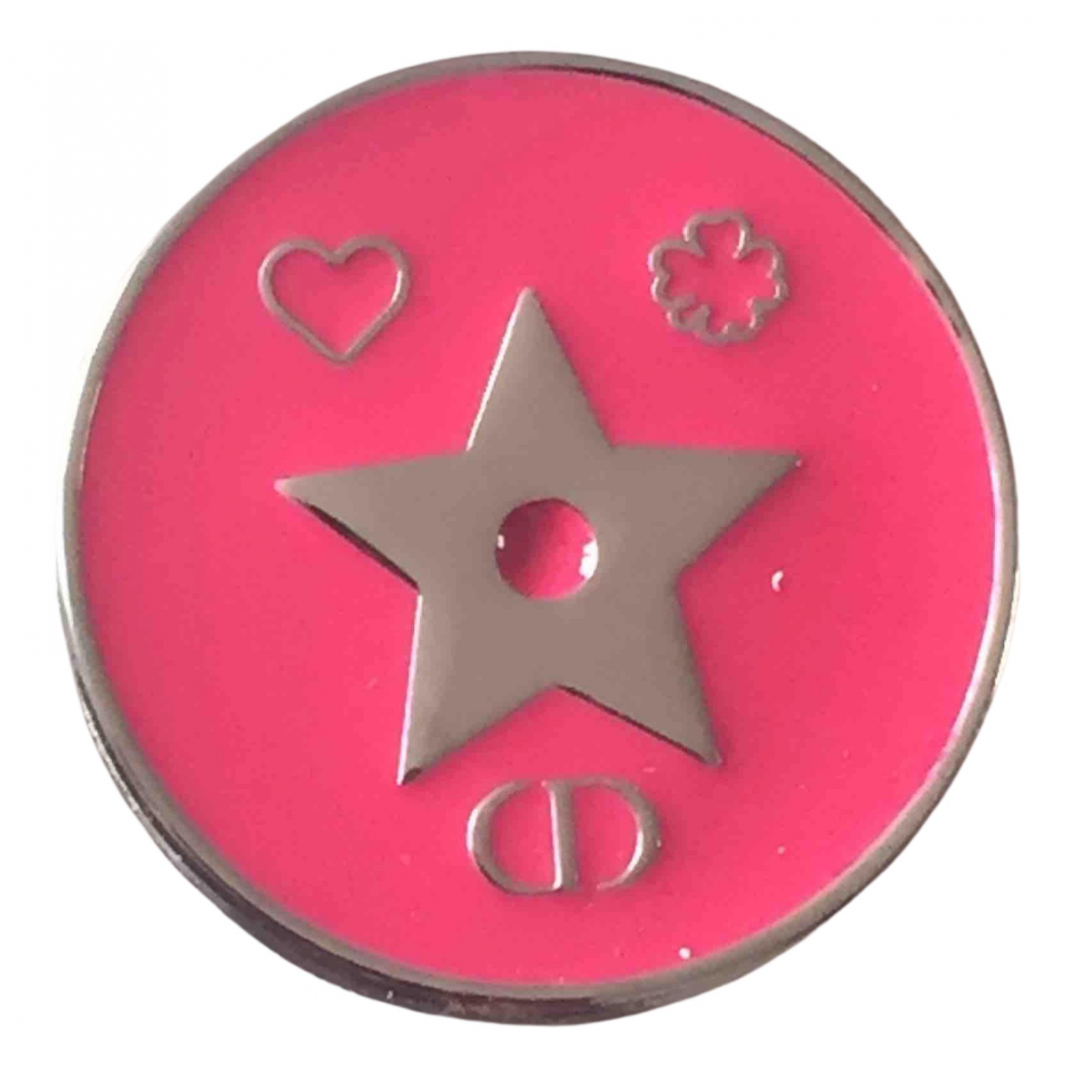 Dior \N Brosche in  Rosa Metall