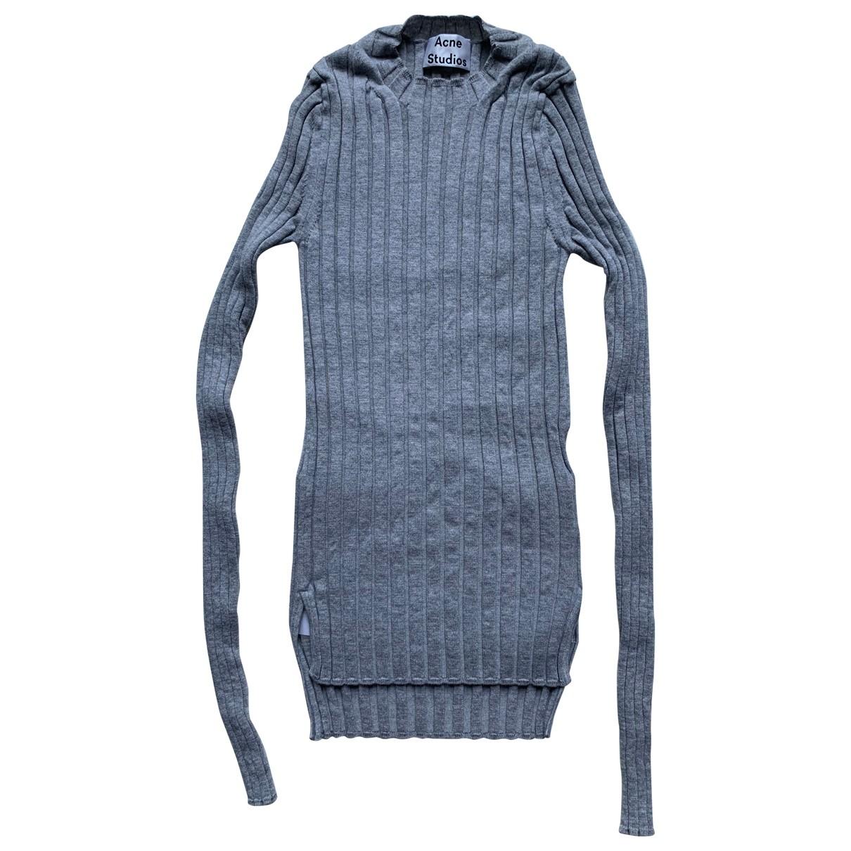 Acne Studios - Pull   pour femme en laine - gris
