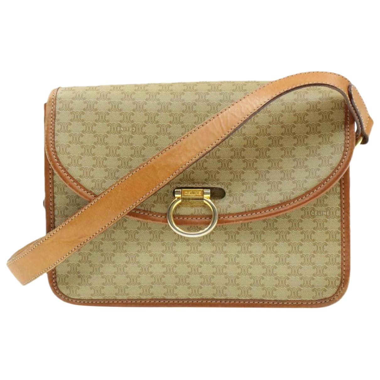 Celine \N Beige Cloth handbag for Women \N