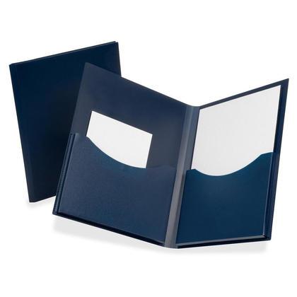 Oxford poly double stuff double folders pocket, lettre taille, 1 couvercle par paquet