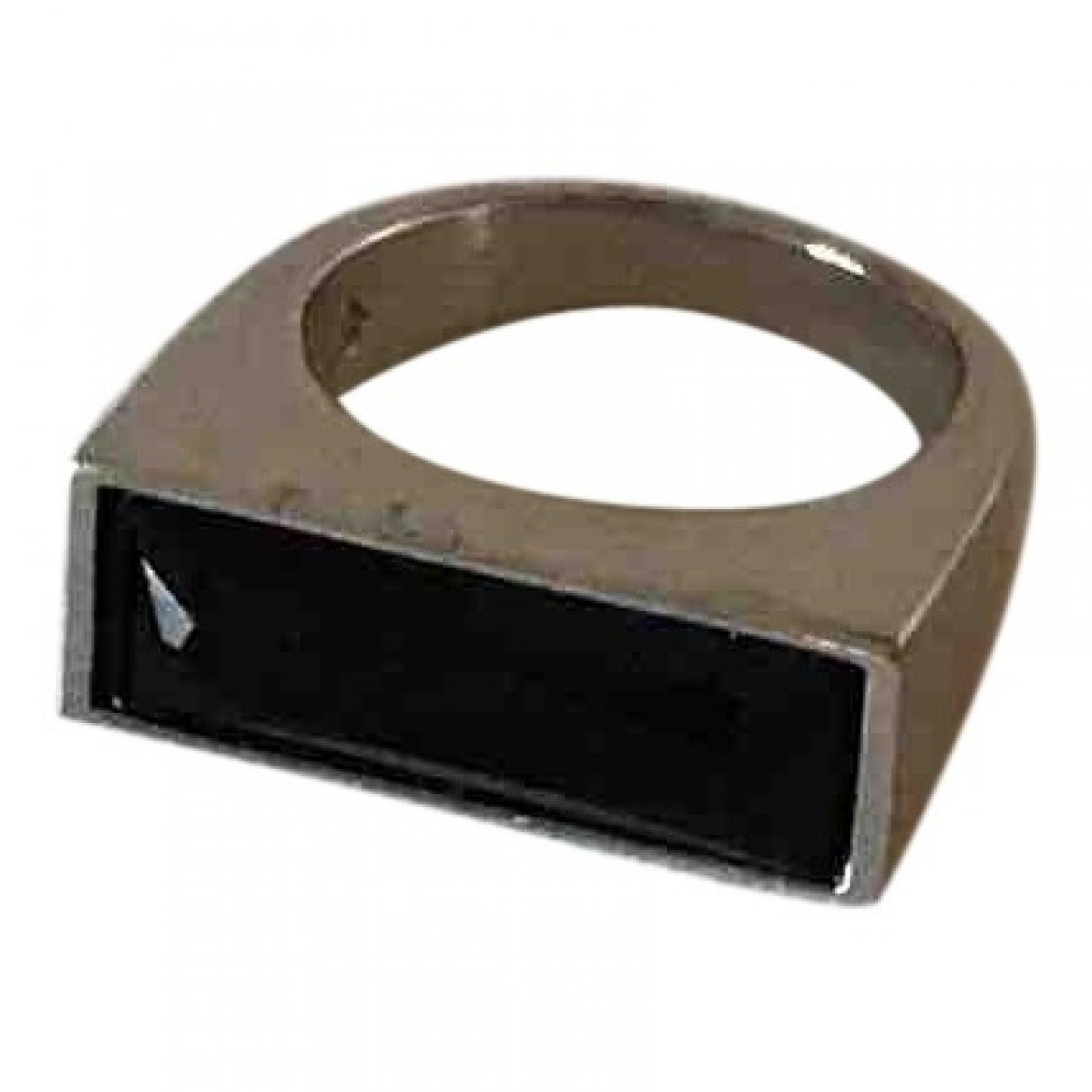 Swarovski \N Black Steel ring for Women \N