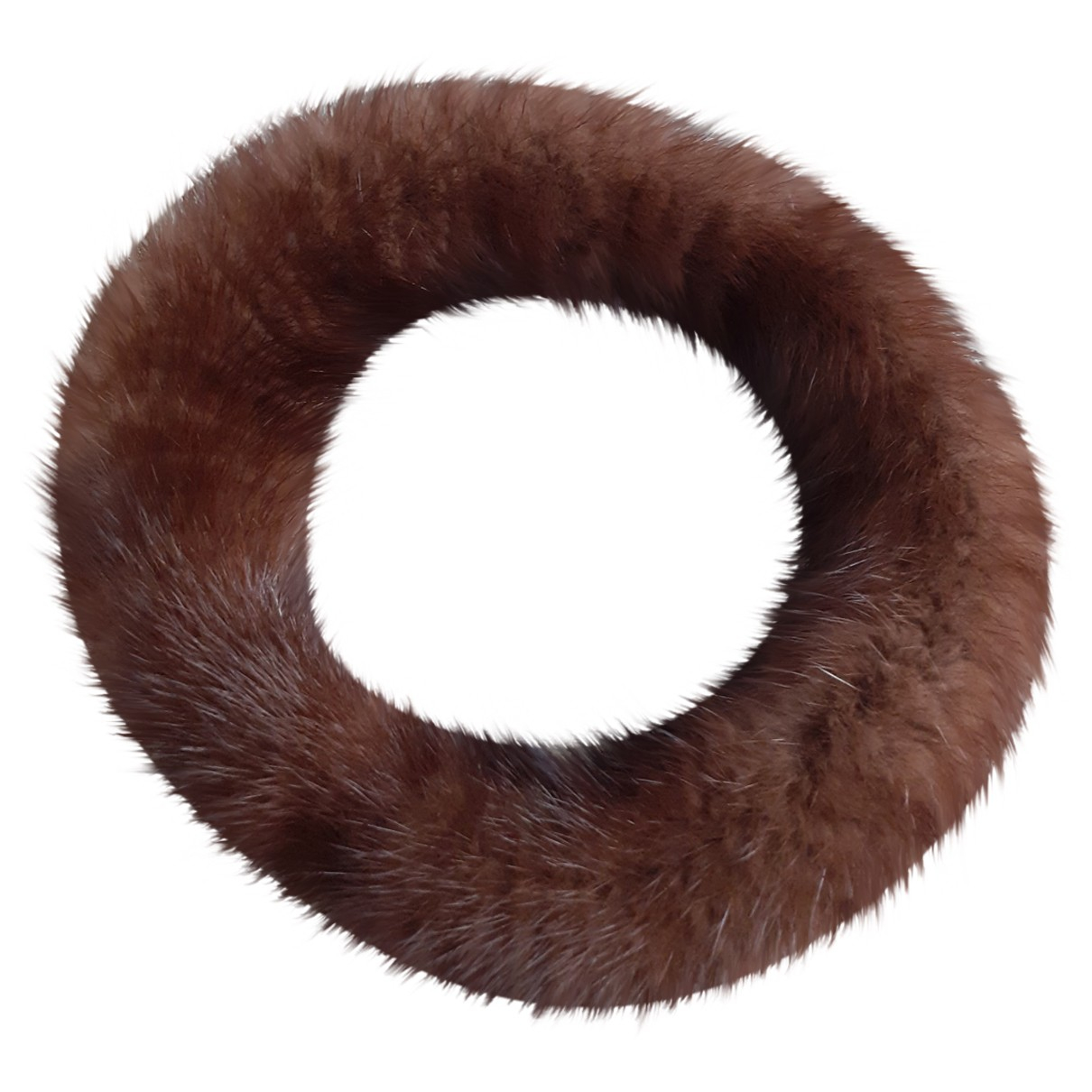 Non Signé / Unsigned \N Brown Mink Hair accessories for Women \N