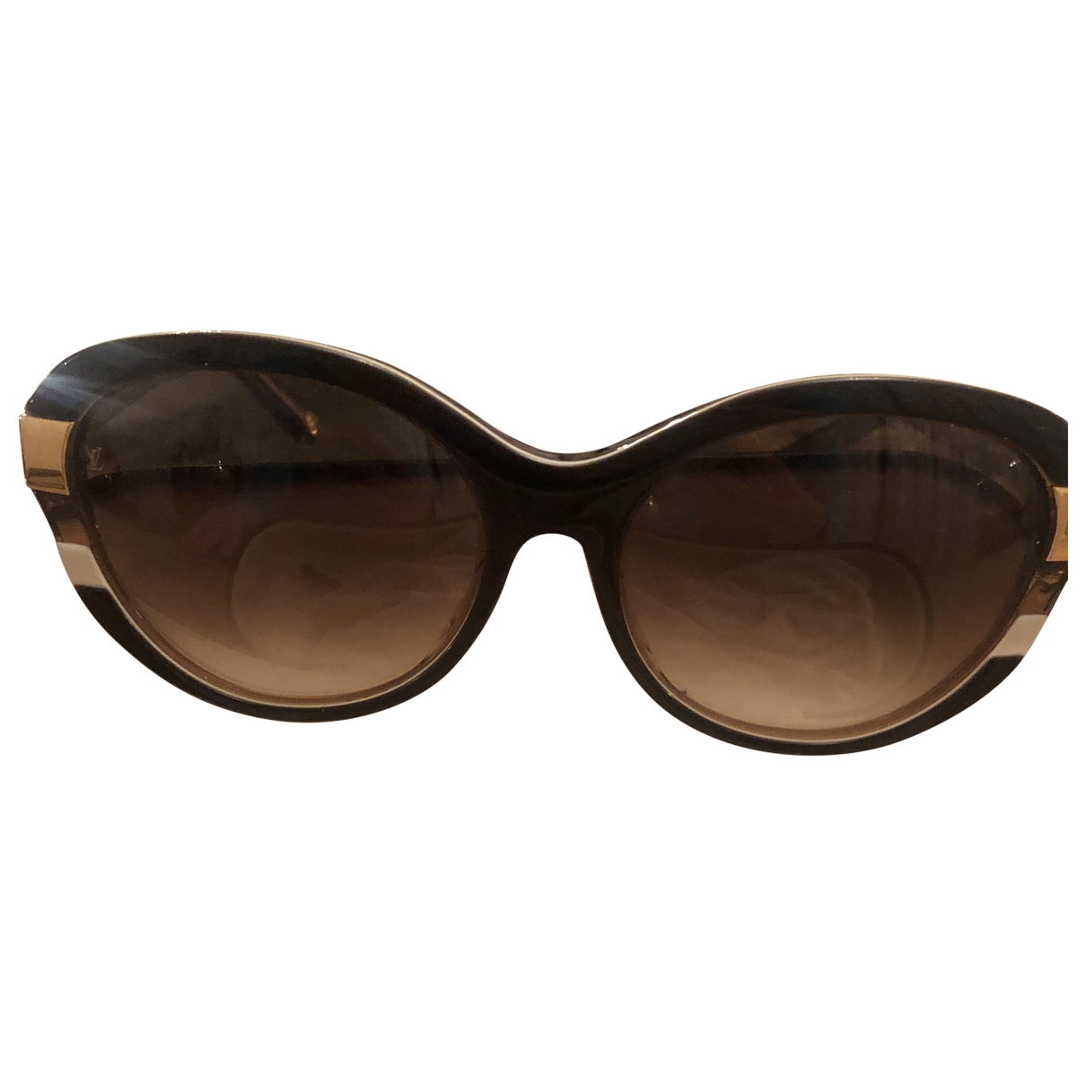 Louis Vuitton \N Gold Sunglasses for Women \N