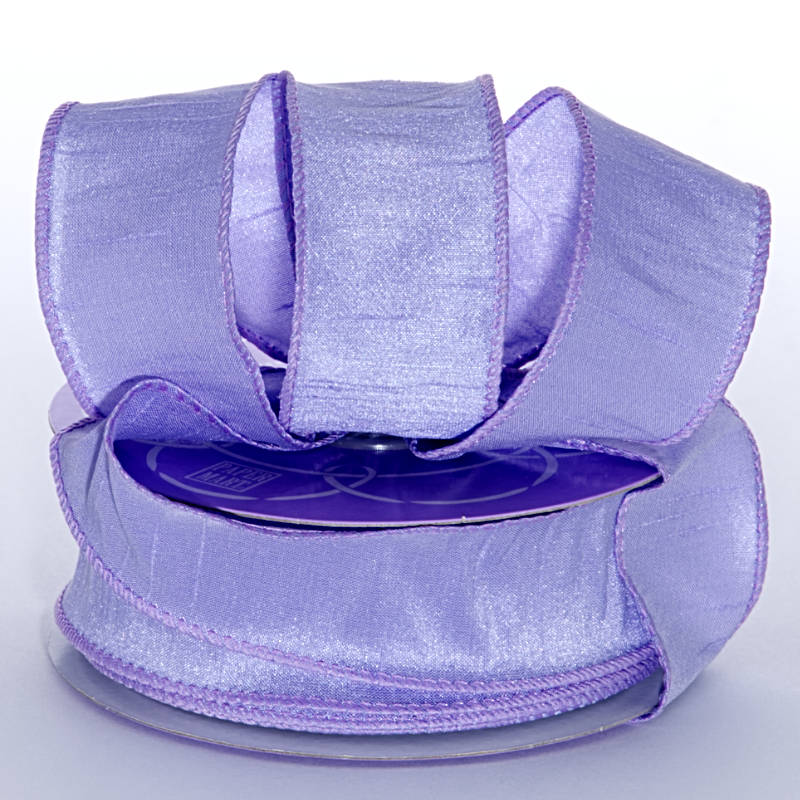 1-1/2 In X 20 Yards Lavender Dupioni Ribbon by Ribbons.com