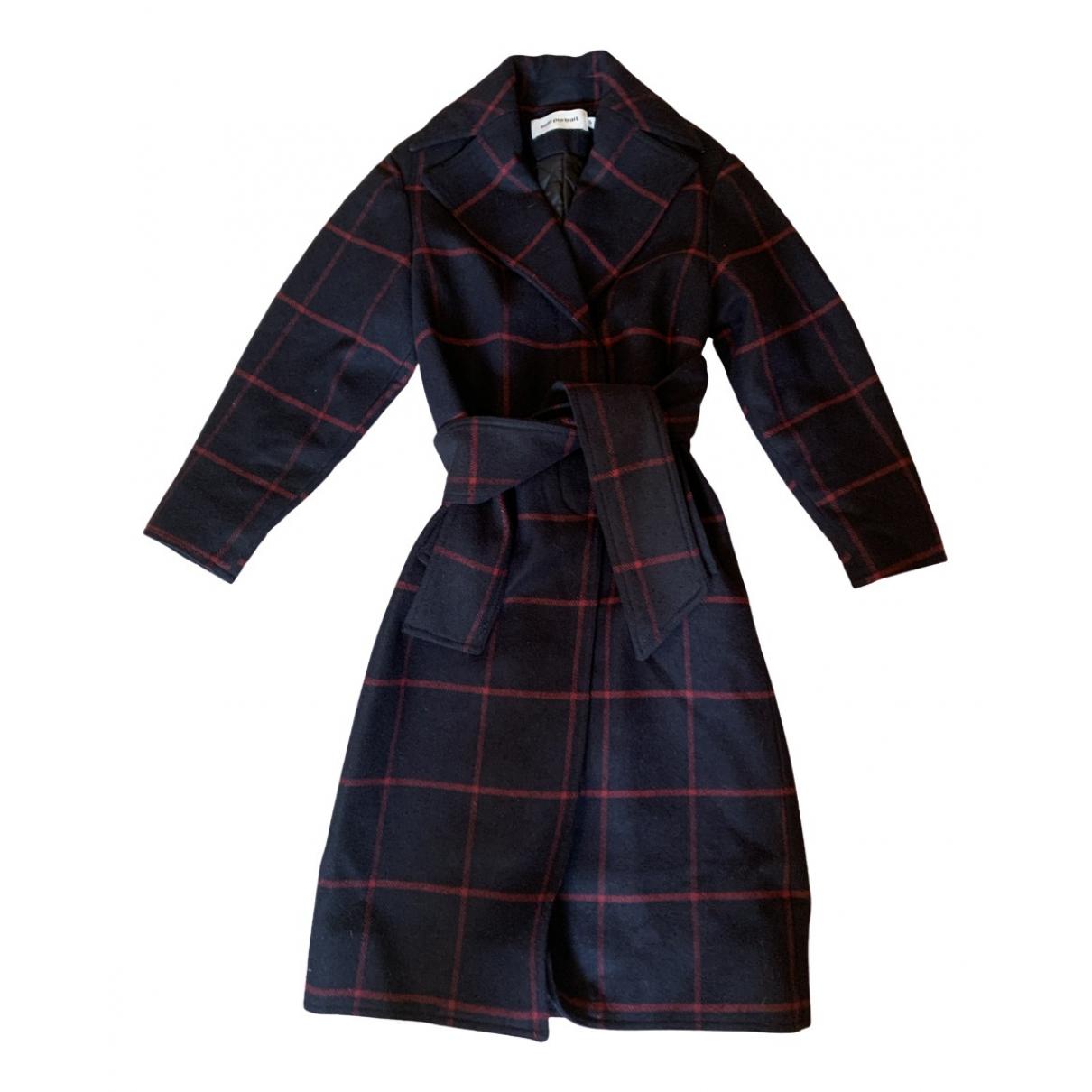 Self Portrait \N Navy Wool coat for Women S International