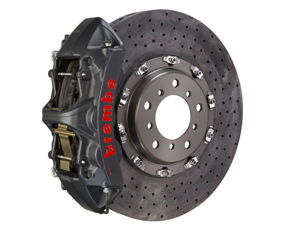 Brembo GT-S CCM-R 380x34 CCM-R 6 Piston Hard Anodized Drilled Front Big Brake Kit