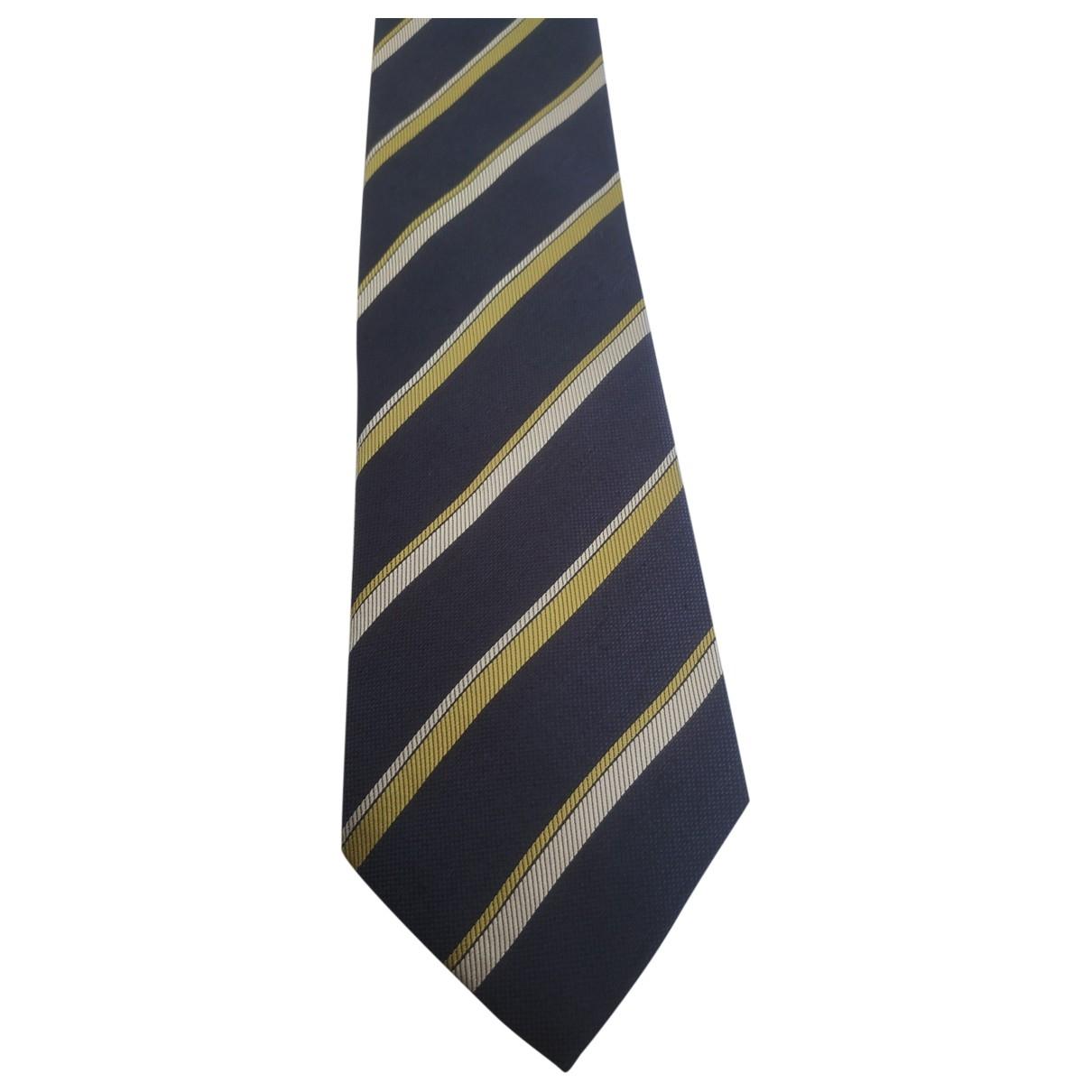 Moschino \N Krawatten in  Blau Seide