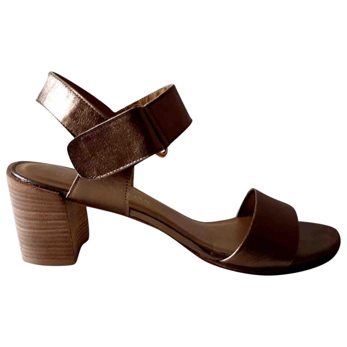 Stuart Weitzman - Sandales   pour femme en cuir