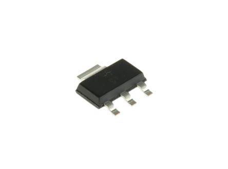 Texas Instruments TLV1117-33IDCYR, LDO Regulator, 800mA, 3.3 V 3+Tab-Pin, SOT-223 (5)