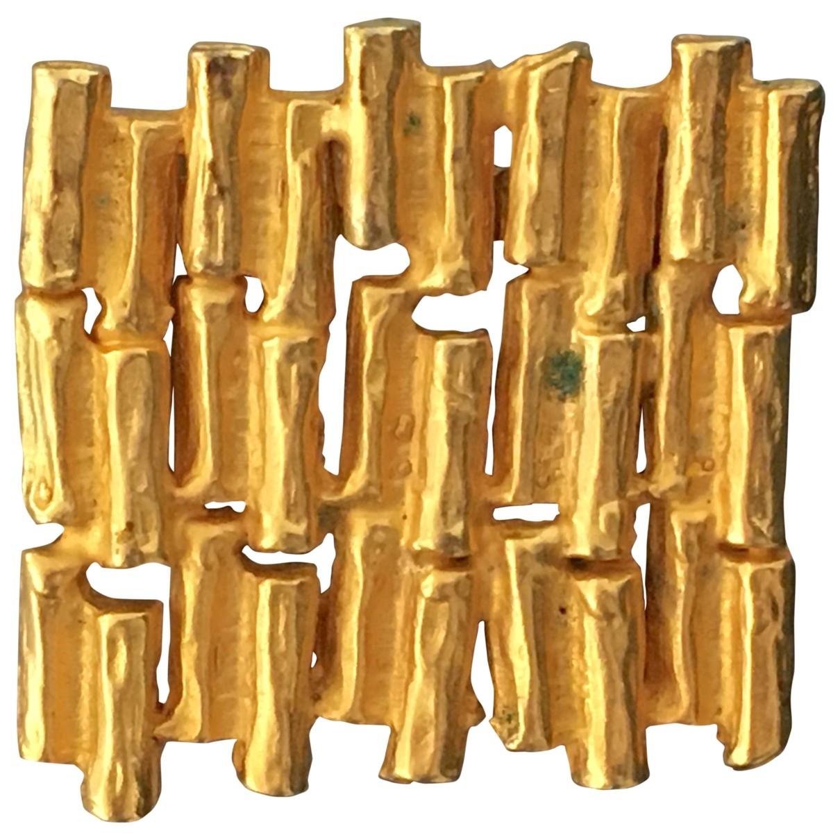 - Broche   pour femme en metal - dore