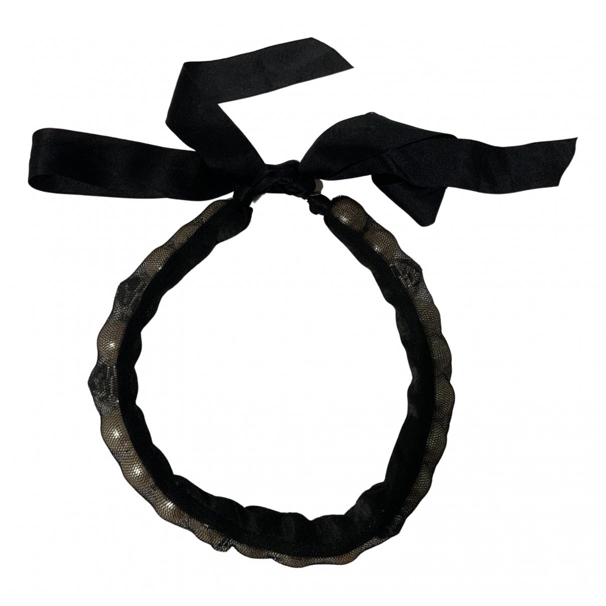 Lanvin - Collier   pour femme en metal - noir