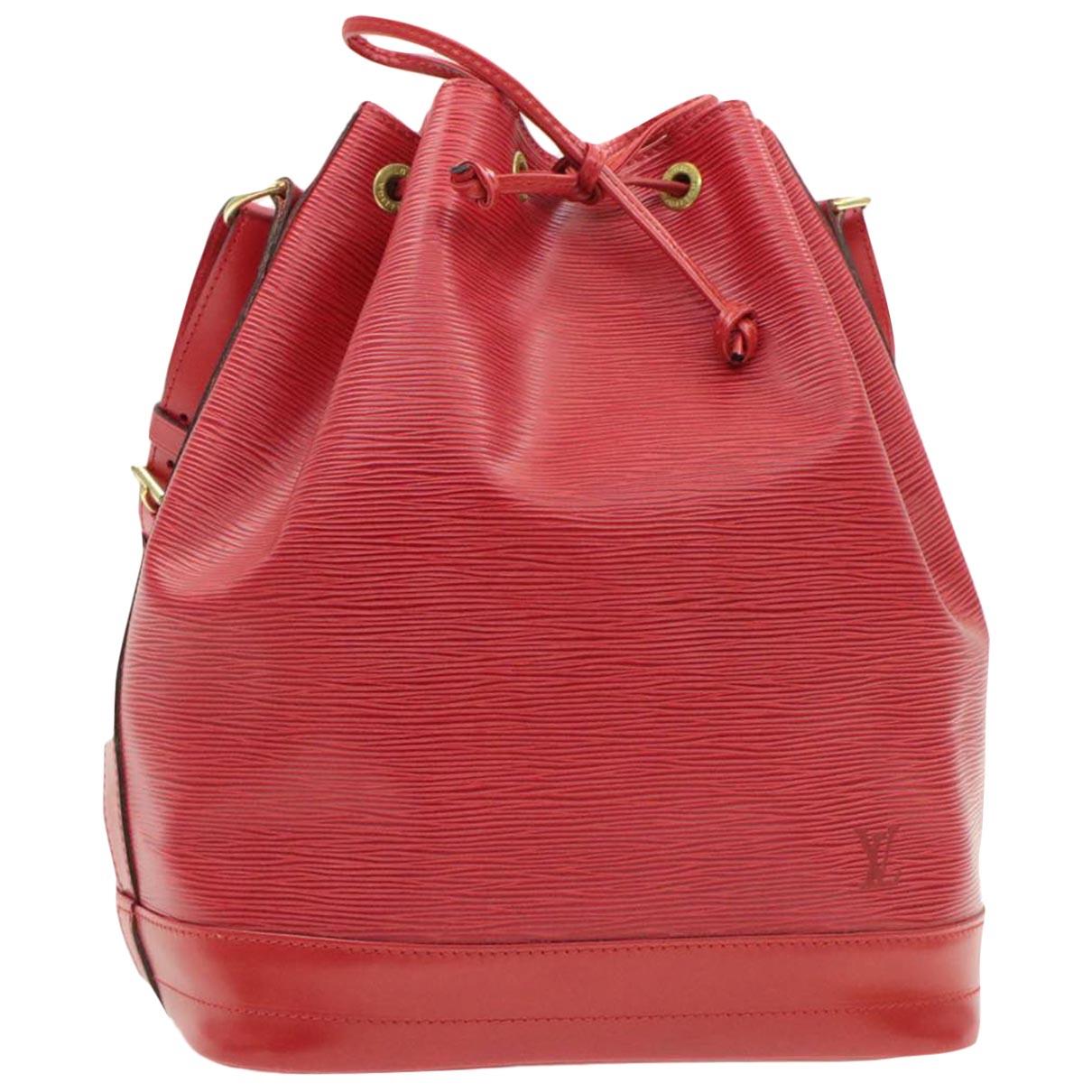 Bolso Petit Noe trunk de Cuero Louis Vuitton