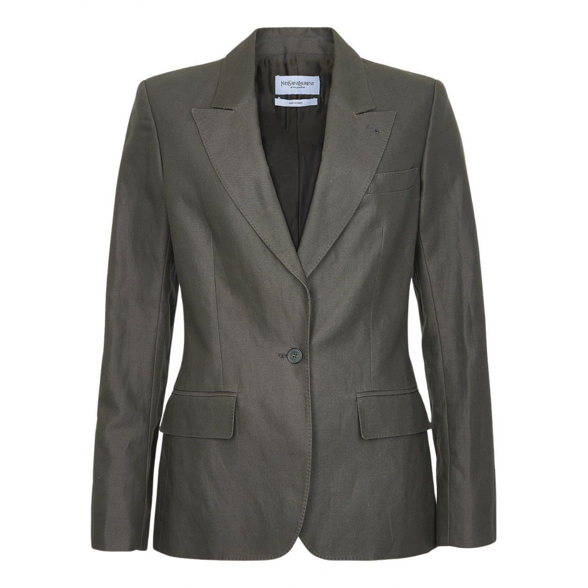 Yves Saint Laurent N Multicolour Cotton jacket for Women 12 UK