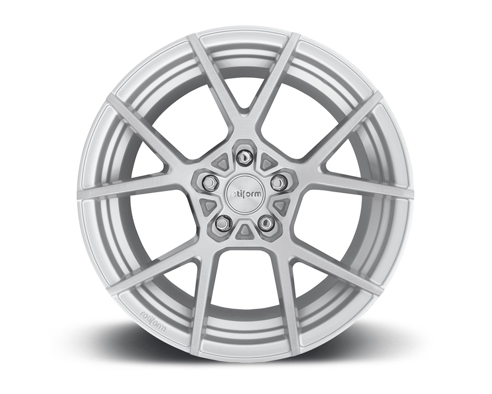 Rotiform R138198543+45 KPS Silver & Brushed Cast Monoblock Wheel 19x8.5 5x112 45mm