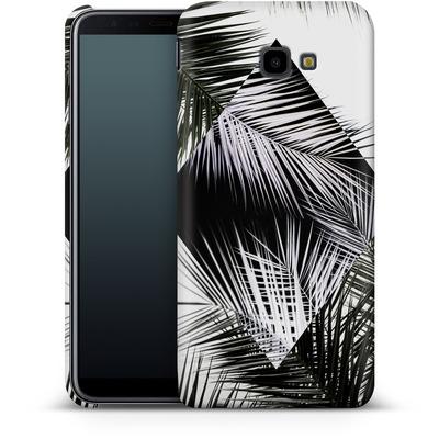 Samsung Galaxy J4 Plus Smartphone Huelle - Palm Leaves 3 Geometry 2 von Mareike Bohmer