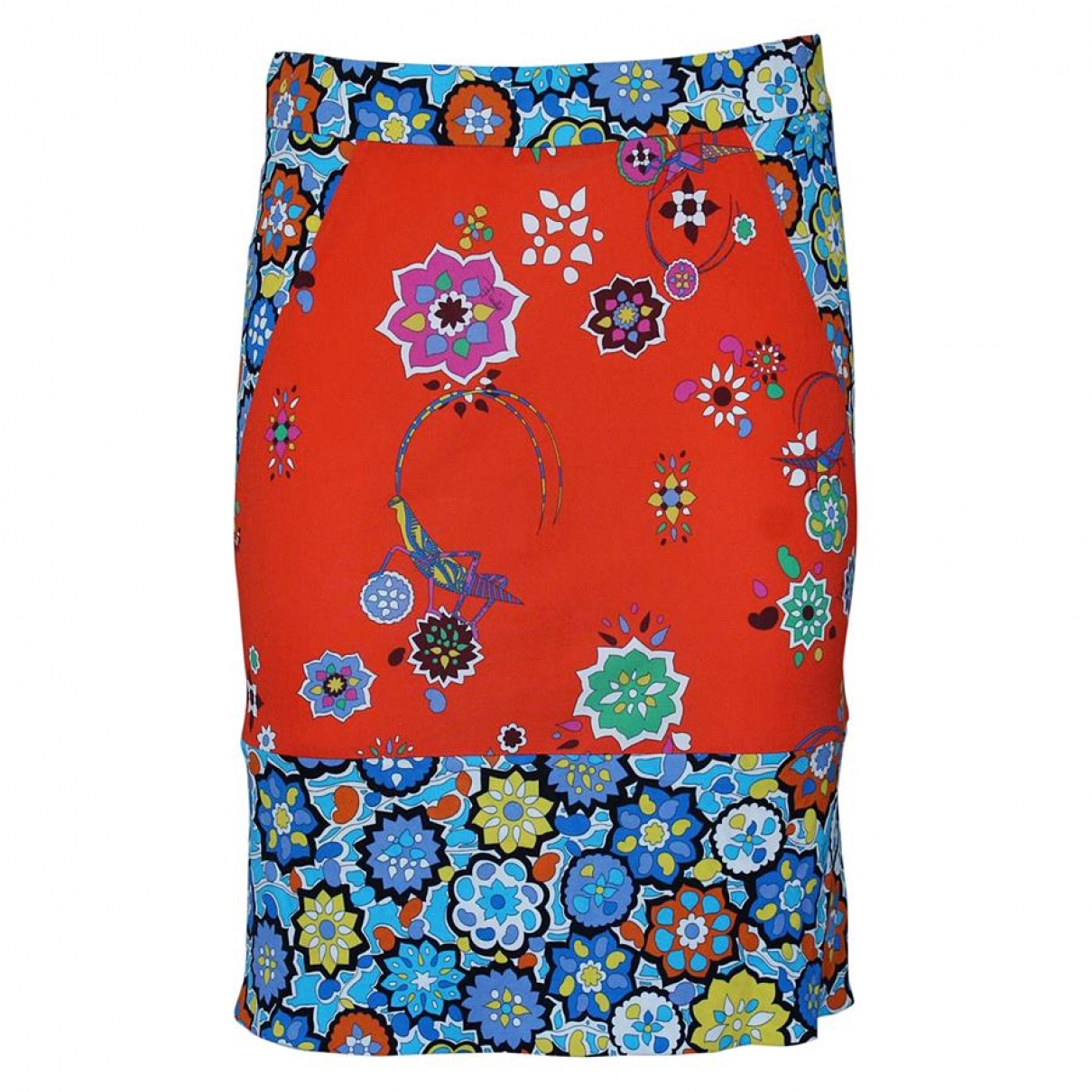 Falda de Seda Emilio Pucci