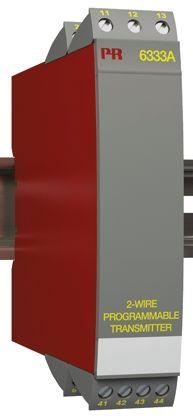 PR Electronics 6300 Temperature Transmitter Linear Resistance, RTD Input, 8 → 35 V dc