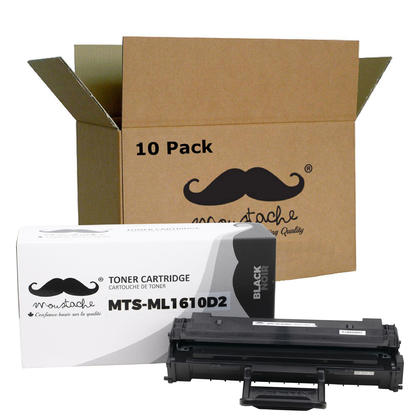 Compatible Samsung ML-1610D2 cartouche de toner noire haute capacite - Moustache - 10/paquet