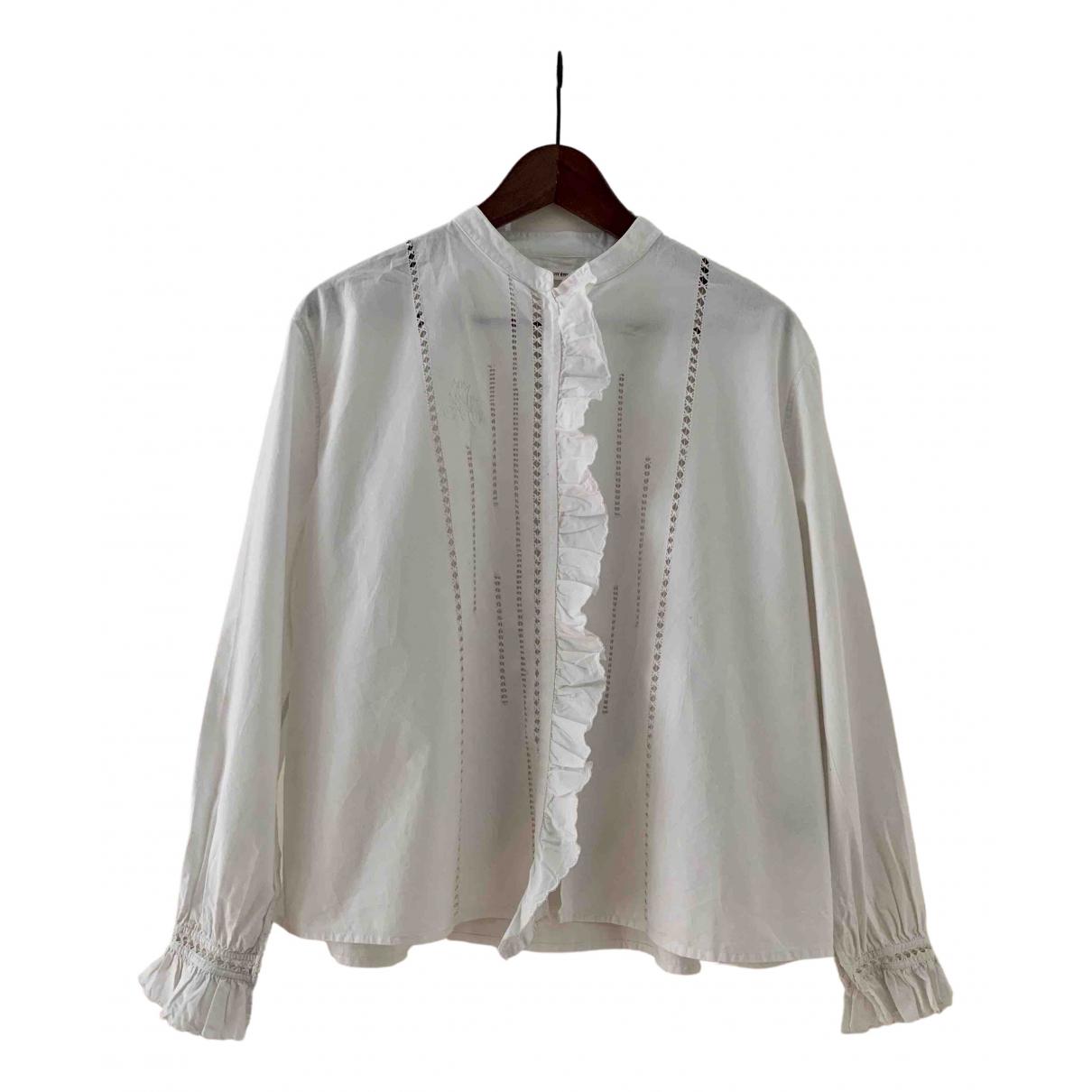 Isabel Marant Etoile \N White Cotton  top for Women 40 FR