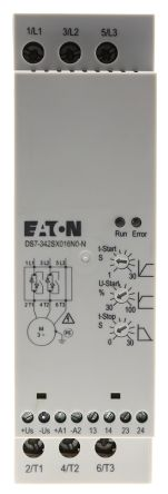 Eaton 3 Phase Soft Starter - 16 A Current Rating, DS7 Series, 7.5 kW Power Rating, 230 → 460 V ac Supply Voltage