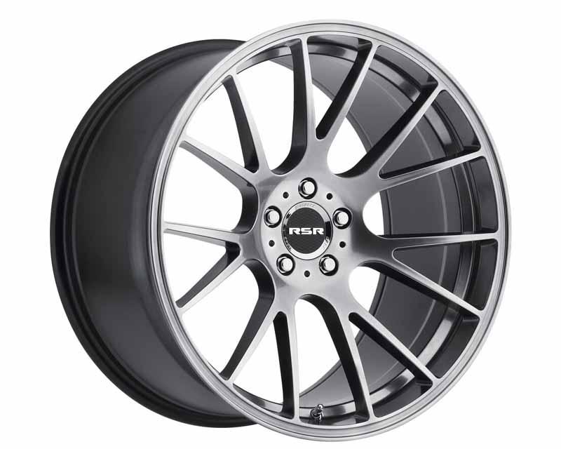 RSR Hyper Silver Type R801 Wheel 20x10.5 5x112 25mm