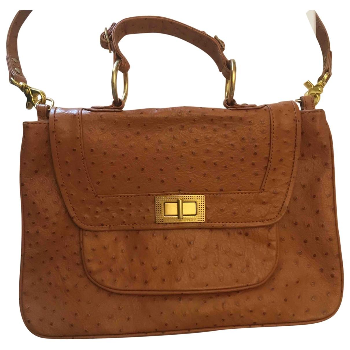 Rebecca Minkoff \N Handtasche in  Braun Leder