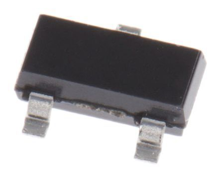 ON Semiconductor 3.3V Zener Diode ±5% 300 mW SMT 3-Pin SOT-23 (3000)