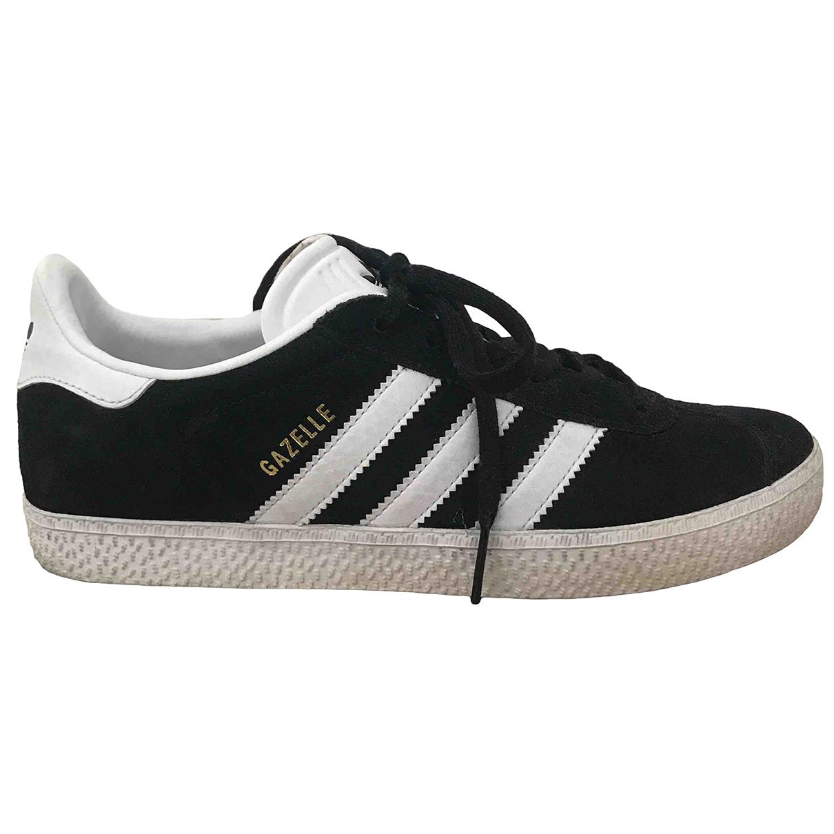 Adidas - Baskets Gazelle pour femme en suede - noir