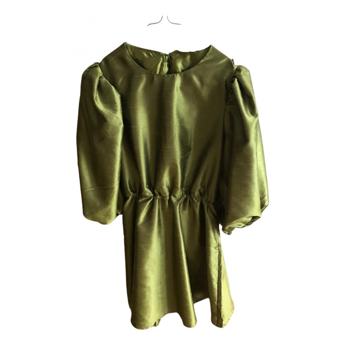 Non Signé / Unsigned \N Green dress for Women 38 FR