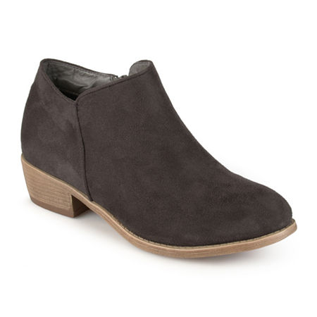Journee Collection Womens Sun Ankle Boots, 9 Medium, Gray