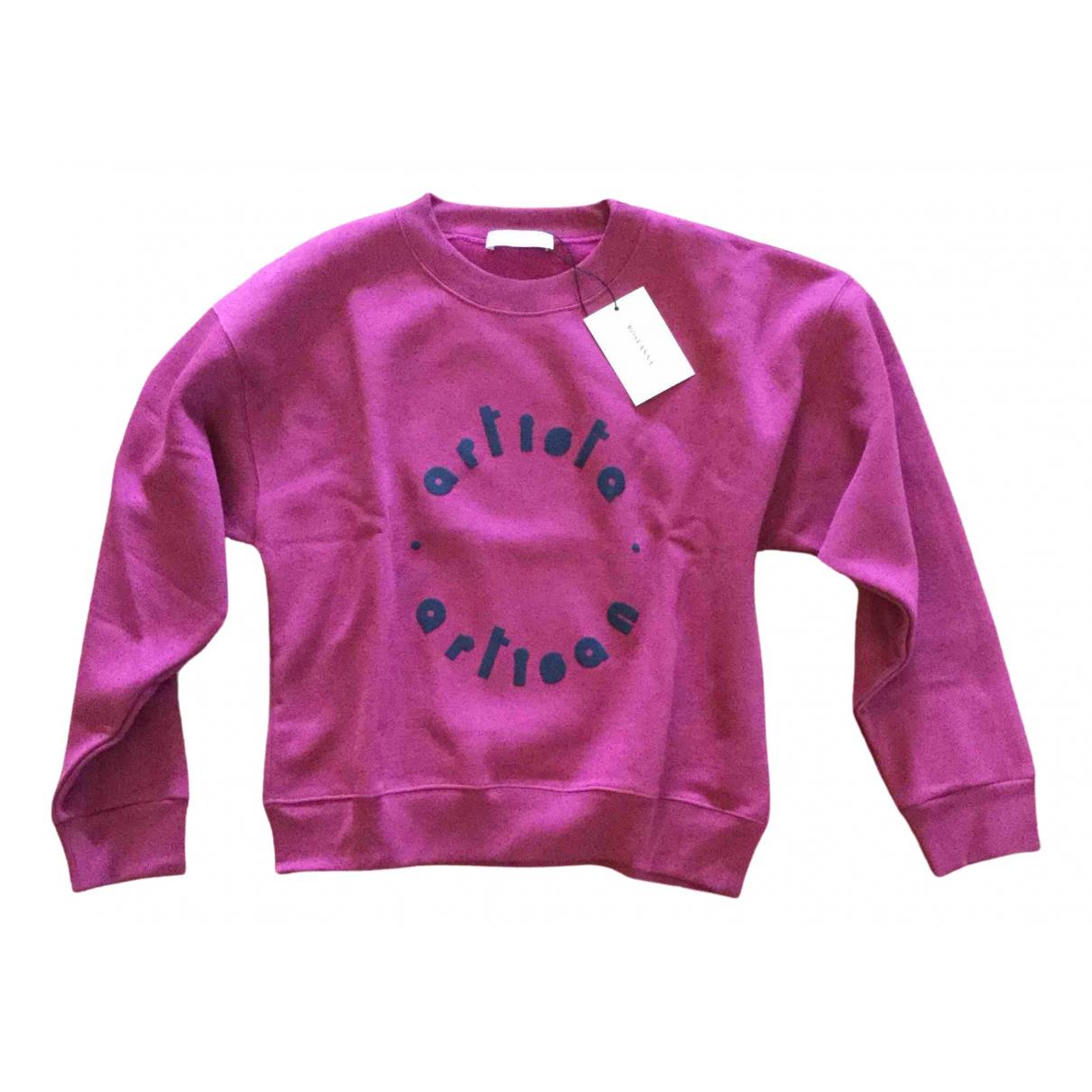 Roseanna - Pull   pour femme en coton - rose
