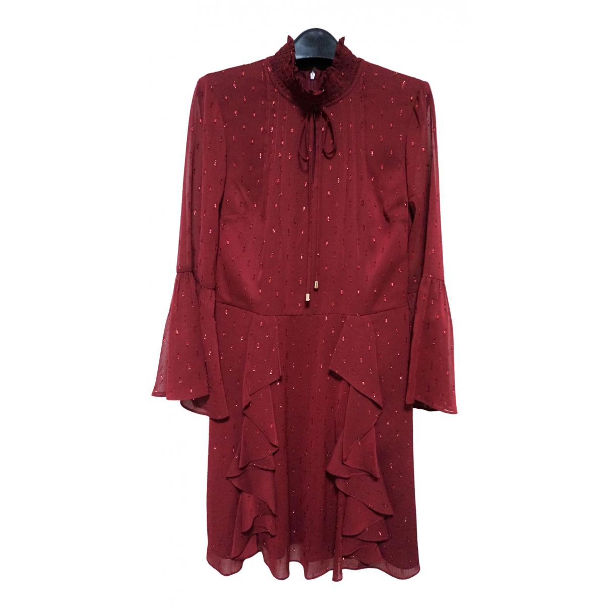 Ted Baker \N Kleid in  Rot Polyester
