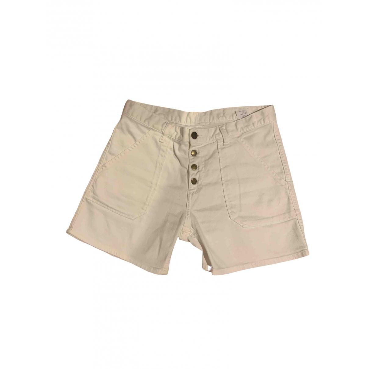 Ba&sh \N Shorts in  Weiss Denim - Jeans