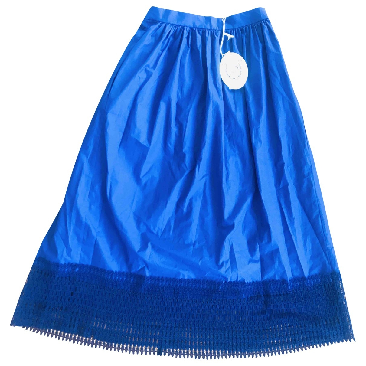 Thierry Colson \N Blue Cotton skirt for Women XS International