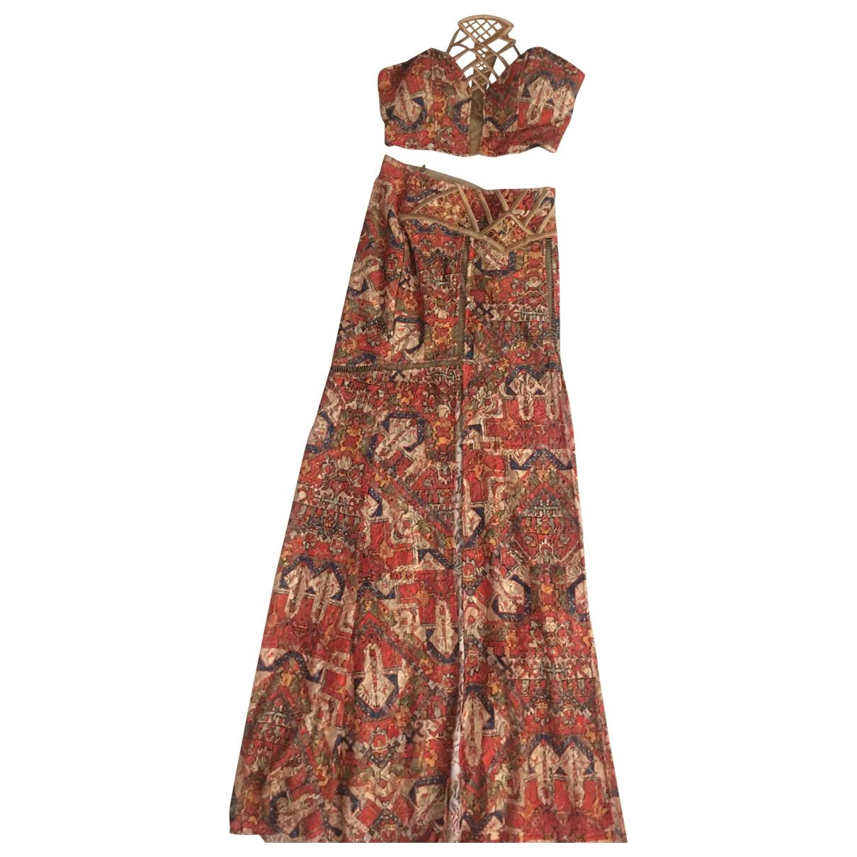 - Robe Hippie Chic pour femme en coton - elasthane - beige