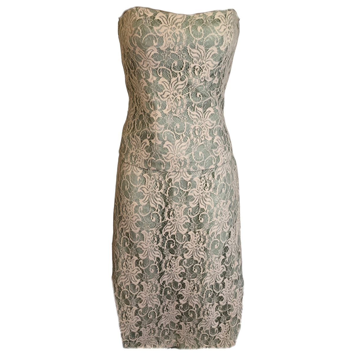 Coast \N Green Lace dress for Women 38 FR