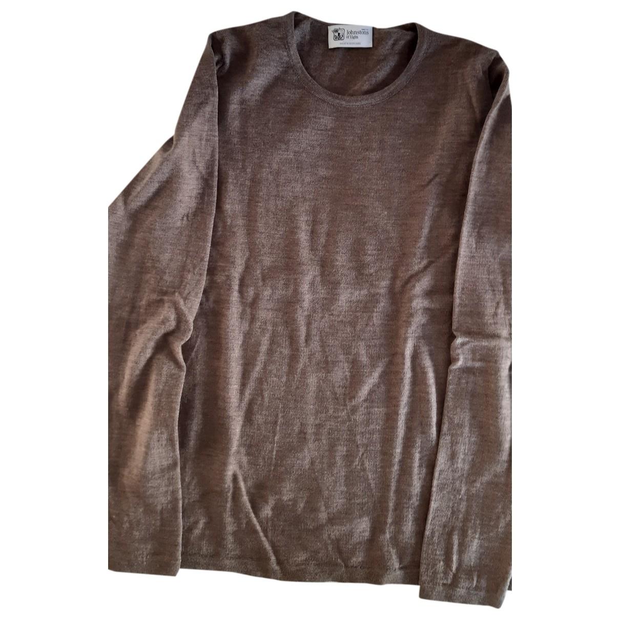 Johnstons Of Elgin \N Brown Wool Knitwear for Women S International